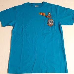VTG Winnie The Pooh Tiger Eeyore Disney Store Med